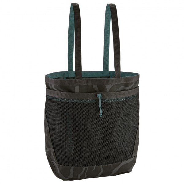 パタゴニア Planing Tote 32(Tiger Tracks Camo / Ink Black)