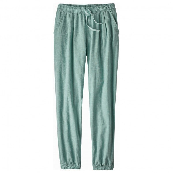 パタゴニア Island Hemp Beach Pants ジーンズ レディース(Cross Weave / Atoll Blue)