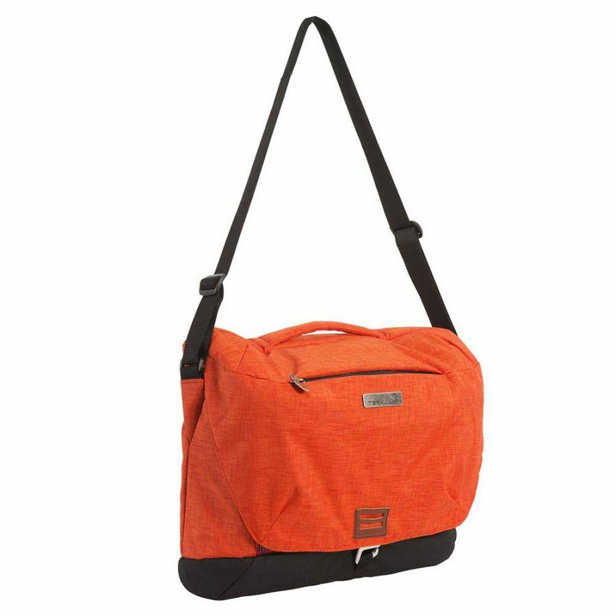 [テルヌア]Navaho Messenger ショルダーバッグ(Orange)