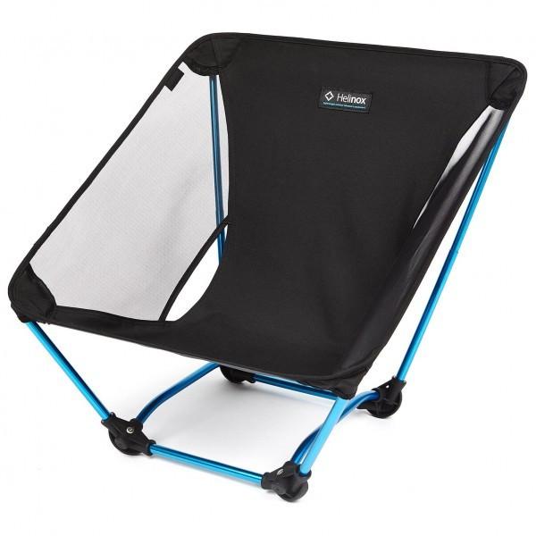 ヘリノックス Ground Chair キャンピングチェア(Black / Blue)
