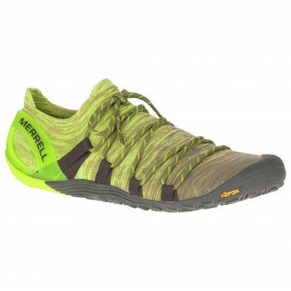 メレル Vapor Glove 4 3D(Olive Drab / Lime Punch)★トレイルラン・山歩き・アウトドアシューズ・靴・登山★