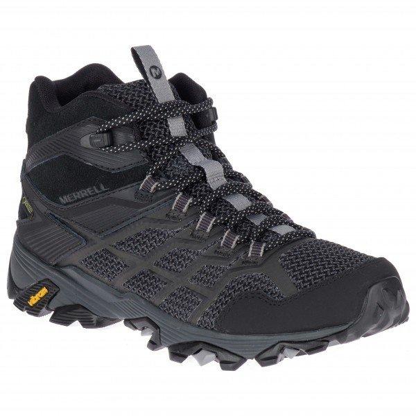 メレル Moab FST 2 Mid GTX ウーマン(Black)★登山靴・靴・登山・アウトドアシューズ・山歩き★