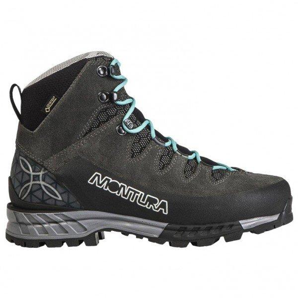 モンチュラ Tre Cime GTX ウーマン ( Antracite / Ice Blue ) ★ 登山靴 ・ 靴 ・ 登山 ・ アウトドアシューズ ・ 山歩き ★