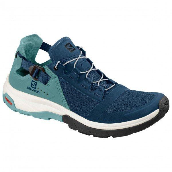 サロモン Techamphibian 4 ウーマン ( Hydro / Nile Blue / Poseidon ) ★ アプローチシューズ ・ 山歩き ・ アウトドアシューズ ・ 靴 ・ 登山 ★