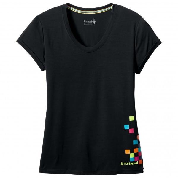スマートウール Merino 150 Logo Tee Tシャツ レディース(Black)