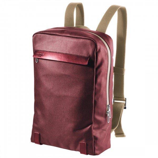 ブルックスイングランド Pickzip Canvas Backpack(Chianti / Maroon)