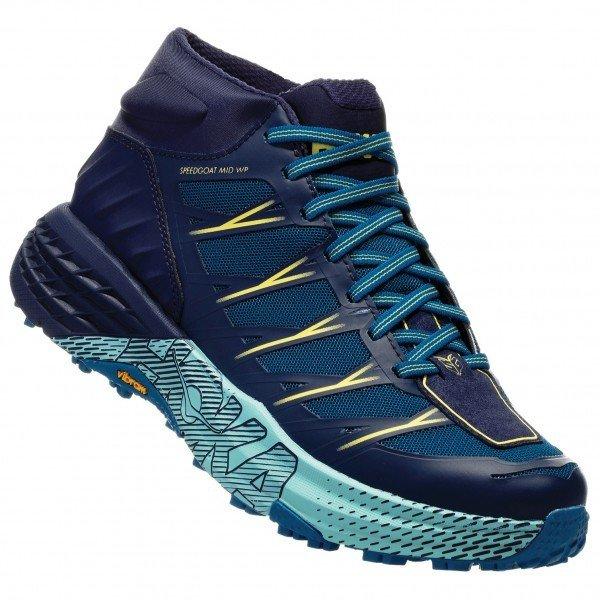ホカ オネオネ Speedgoat Mid WP ウーマン(Seaport / Medieval Blue)★登山靴・靴・登山・アウトドアシューズ・山歩き★