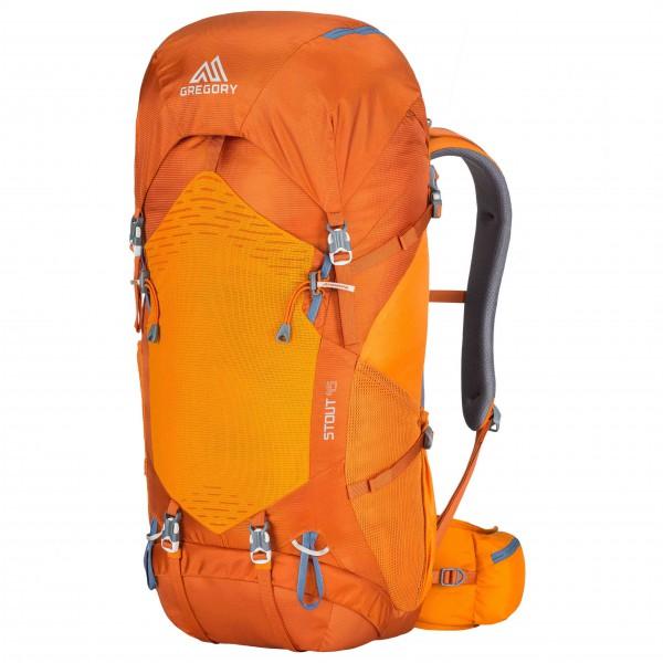 【 即納 】 グレゴリー スタウト 45 ( Prairie Orange ) ★ リュック ・ バックパック ・ 登山 ・ 山歩 ・ トレッキング ★