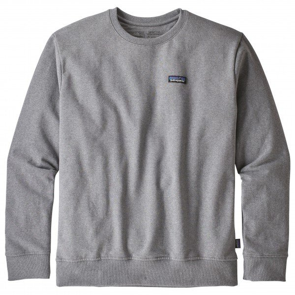 パタゴニア P-6 Label Uprisal Crew Sweatshirt トレーナー(Gravel Heather)