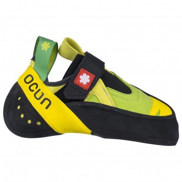 オーツン オキシ S(Green / Yellow)★ロッククライミング・クライミングシューズ・ボルダリングシューズ★