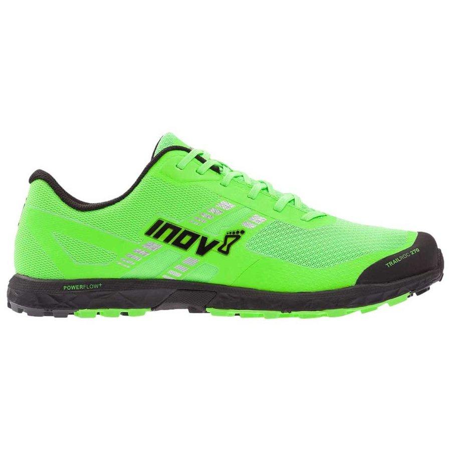 [ イノヴェイト ] Trailroc 270 ( Green / Black ) ★ トレイルラン ・ 山歩き ・ アウトドアシューズ ・ 靴 ・ 登山 ★
