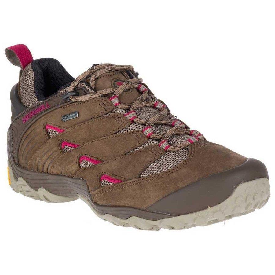 [ メレル ] Chameleon 7 Goretex ウーマン ( Merrell Stone ) ★ 登山靴 ・ 靴 ・ 登山 ・ アウトドアシューズ ・ 山歩き ★