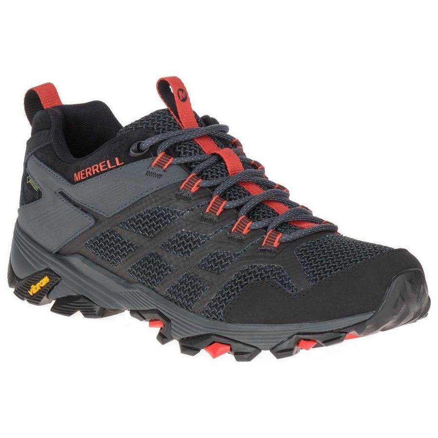 [ メレル ] Moab FST 2 Goretex ( Black / Granite ) ★ 登山靴 ・ 靴 ・ 登山 ・ アウトドアシューズ ・ 山歩き ★