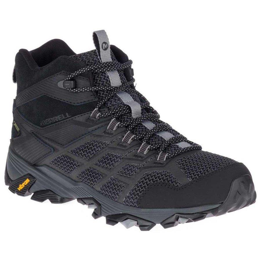 [ メレル ] Moab FST 2 Mid ( Black ) ★ 登山靴 ・ 靴 ・ 登山 ・ アウトドアシューズ ・ 山歩き ★