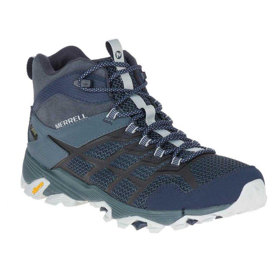 [ メレル ] Moab FST 2 Mid ( Navy / Slate ) ★ 登山靴 ・ 靴 ・ 登山 ・ アウトドアシューズ ・ 山歩き ★