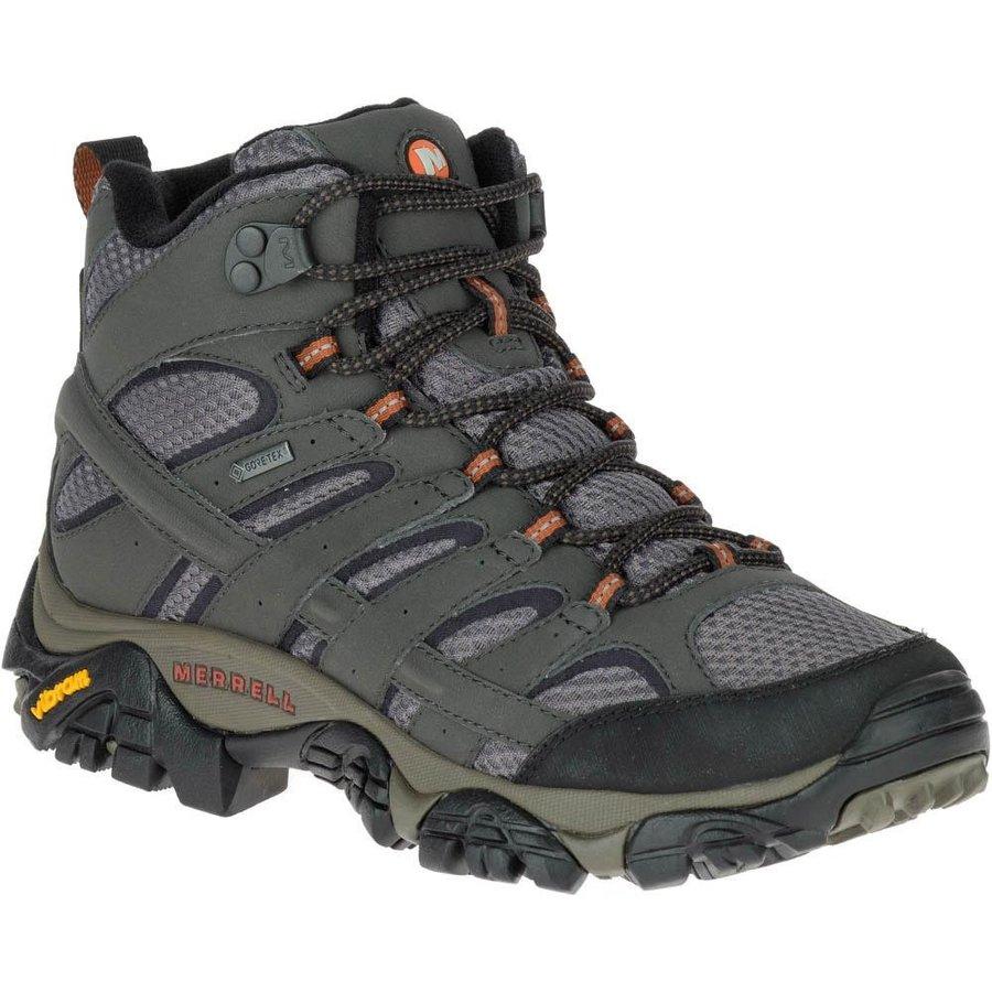 [ メレル ] Moab 2 Mid Goretex ウーマン ( Beluga ) ★ 登山靴 ・ 靴 ・ 登山 ・ アウトドアシューズ ・ 山歩き ★