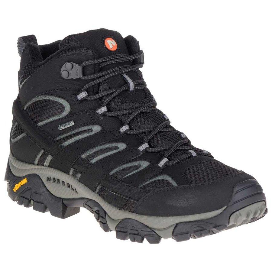 [メレル]Moab 2 Mid Goretex(Black)★登山靴・靴・登山・アウトドアシューズ・山歩き★