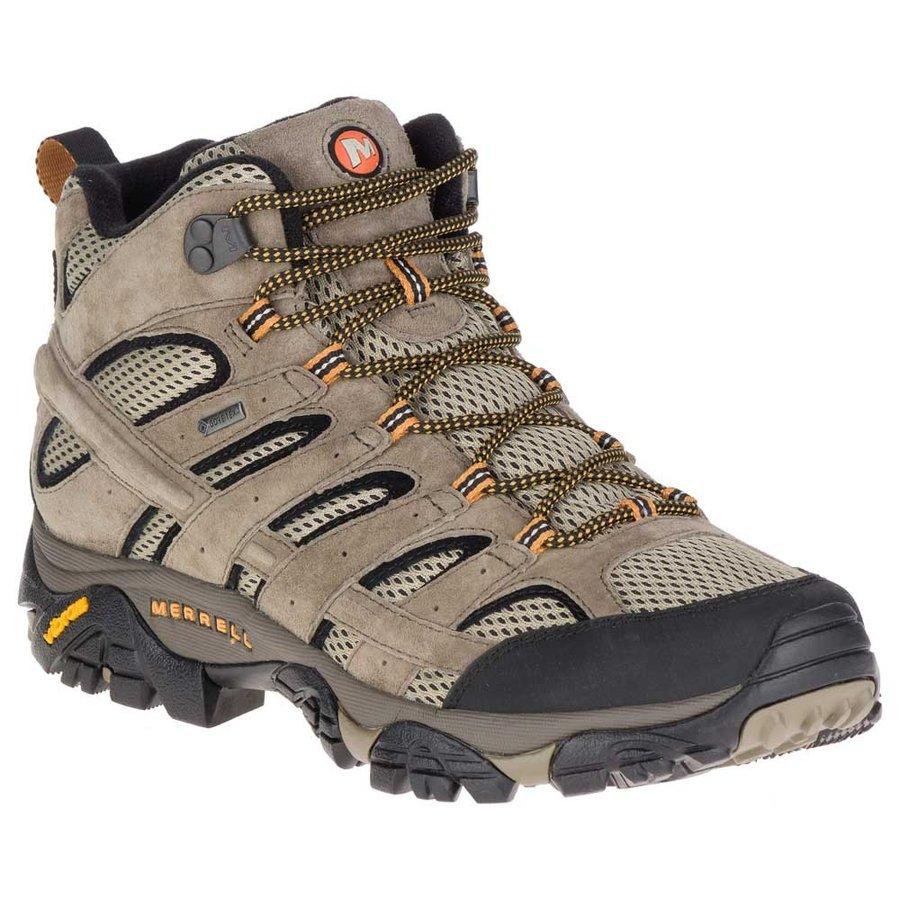 [ メレル ] Moab 2 Mid Goretex ( Pecan ) ★ 登山靴 ・ 靴 ・ 登山 ・ アウトドアシューズ ・ 山歩き ★