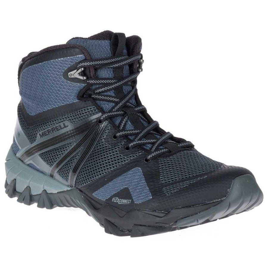 [ メレル ] MQM Flex Mid ( Grey / Black ) ★ 登山靴 ・ 靴 ・ 登山 ・ アウトドアシューズ ・ 山歩き ★