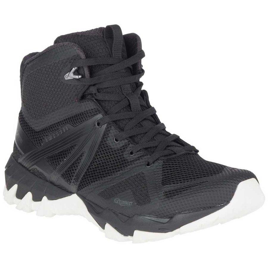 [ メレル ] MQM Flex Mid Goretex ( Black / White ) ★ 登山靴 ・ 靴 ・ 登山 ・ アウトドアシューズ ・ 山歩き ★