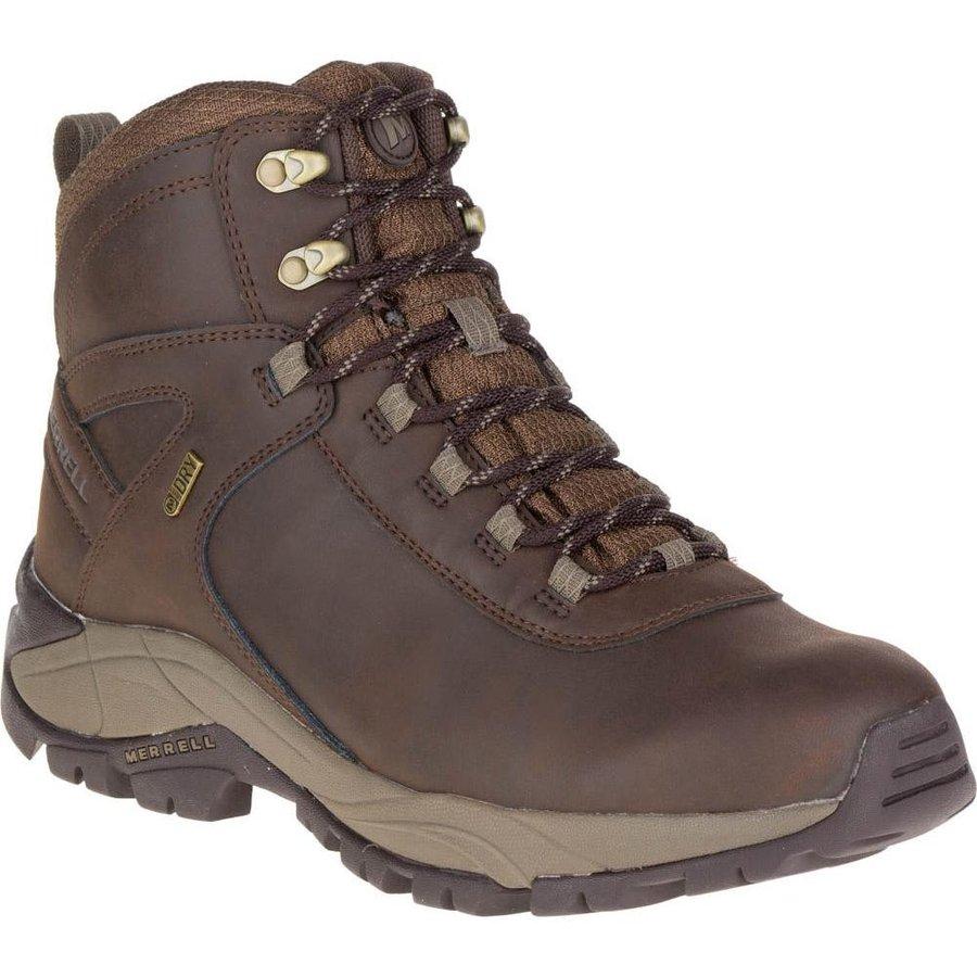 [メレル]Vego Mid Leather Waterproof(Espresso)★登山靴・靴・登山・アウトドアシューズ・山歩き★