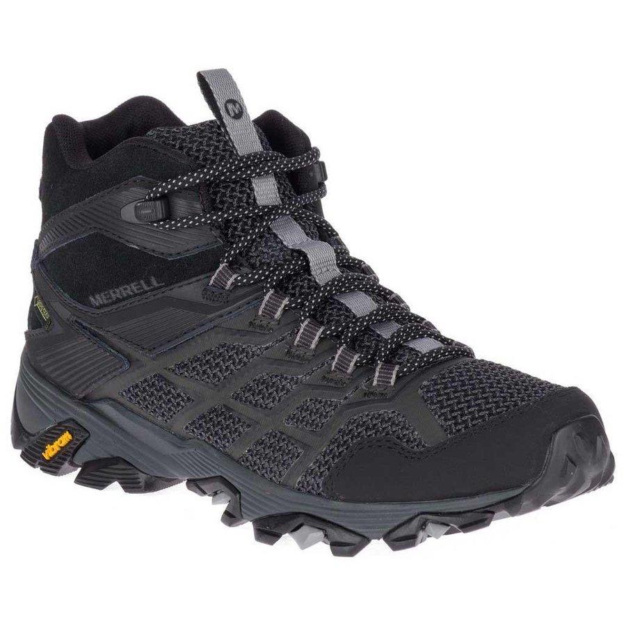 [ メレル ] Moab FST 2 Mid ウーマン ( Black ) ★ 登山靴 ・ 靴 ・ 登山 ・ アウトドアシューズ ・ 山歩き ★