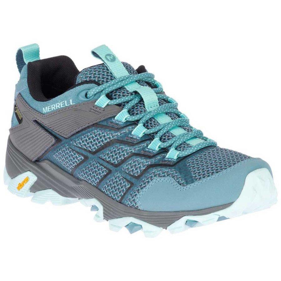 [ メレル ] Moab Fst 2 Goretex ウーマン ( Blue / Smoke ) ★ 登山靴 ・ 靴 ・ 登山 ・ アウトドアシューズ ・ 山歩き ★