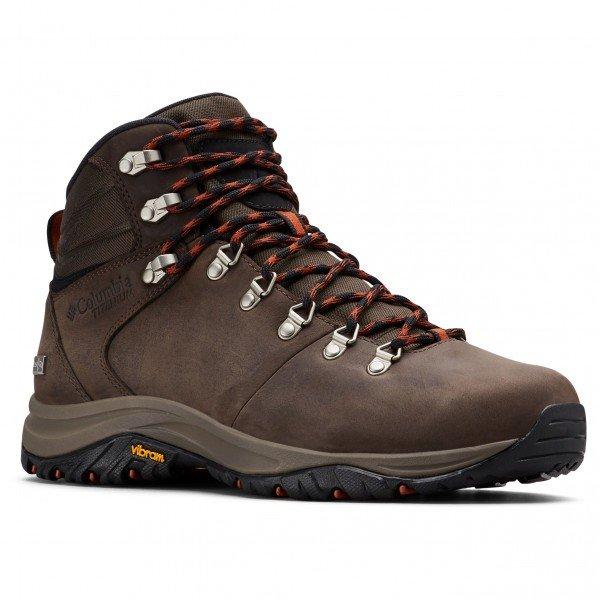 コロンビア 100MW Titanium Outdry(Cordovan / Dark Adobe)★登山靴・靴・登山・アウトドアシューズ・山歩き★