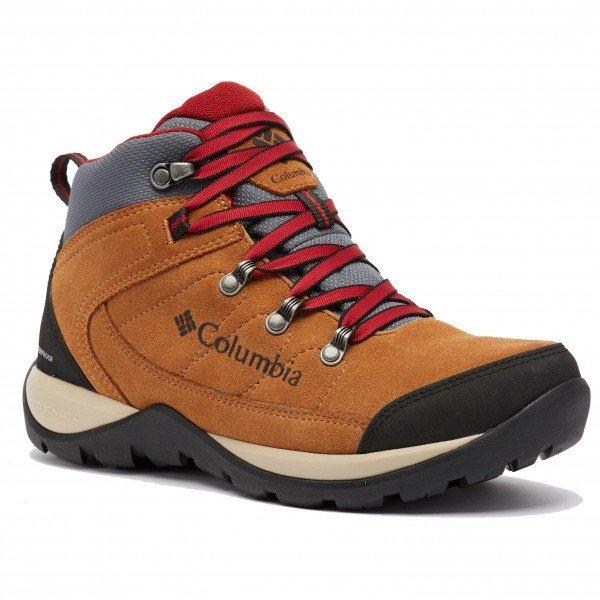コロンビア Fire Venture S II Mid WP ウーマン ( Elk / Beet ) ★ 登山靴 ・ 靴 ・ 登山 ・ アウトドアシューズ ・ 山歩き ★