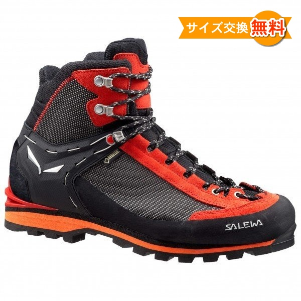 【 即納 】 サレワ Crow GTX ( Black / Papavero ) ★ 登山靴 ・ 靴 ・ 登山 ・ アウトドアシューズ ・ 山歩き ★