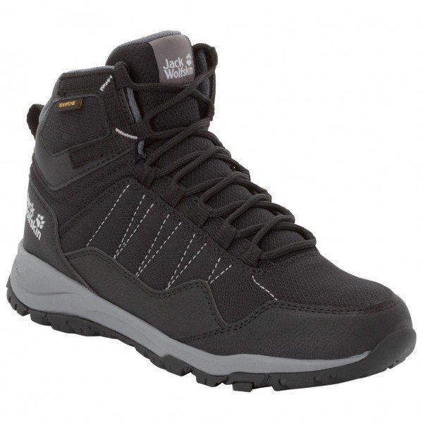 ジャックウルフスキン Maze Texapore Mid ウーマン(Black / Grey)★登山靴・靴・登山・アウトドアシューズ・山歩き★