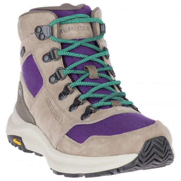 メレル Ontario 85 Mid WP ウーマン ( Acai ) ★ 登山靴 ・ 靴 ・ 登山 ・ アウトドアシューズ ・ 山歩き ★