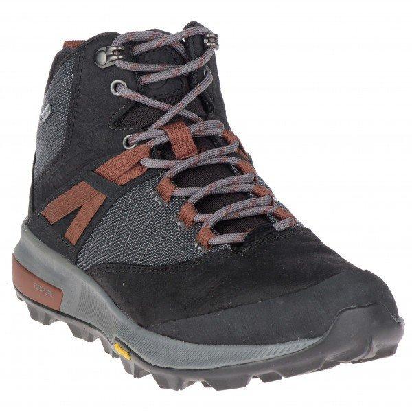メレル Zion Mid GTX ウーマン(Black)★登山靴・靴・登山・アウトドアシューズ・山歩き★