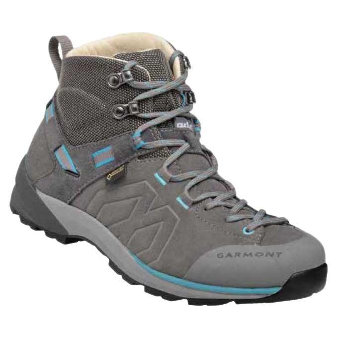 [ ガルモント ] Santiago GTX ウーマン ( Grey / Turquoise ) ★ 登山靴 ・ 靴 ・ 登山 ・ アウトドアシューズ ・ 山歩き ★