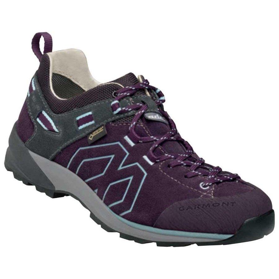 [ ガルモント ] Santiago Low GTX ウーマン ( Dark Brown / Blue ) ★ 登山靴 ・ 靴 ・ 登山 ・ アウトドアシューズ ・ 山歩き ★
