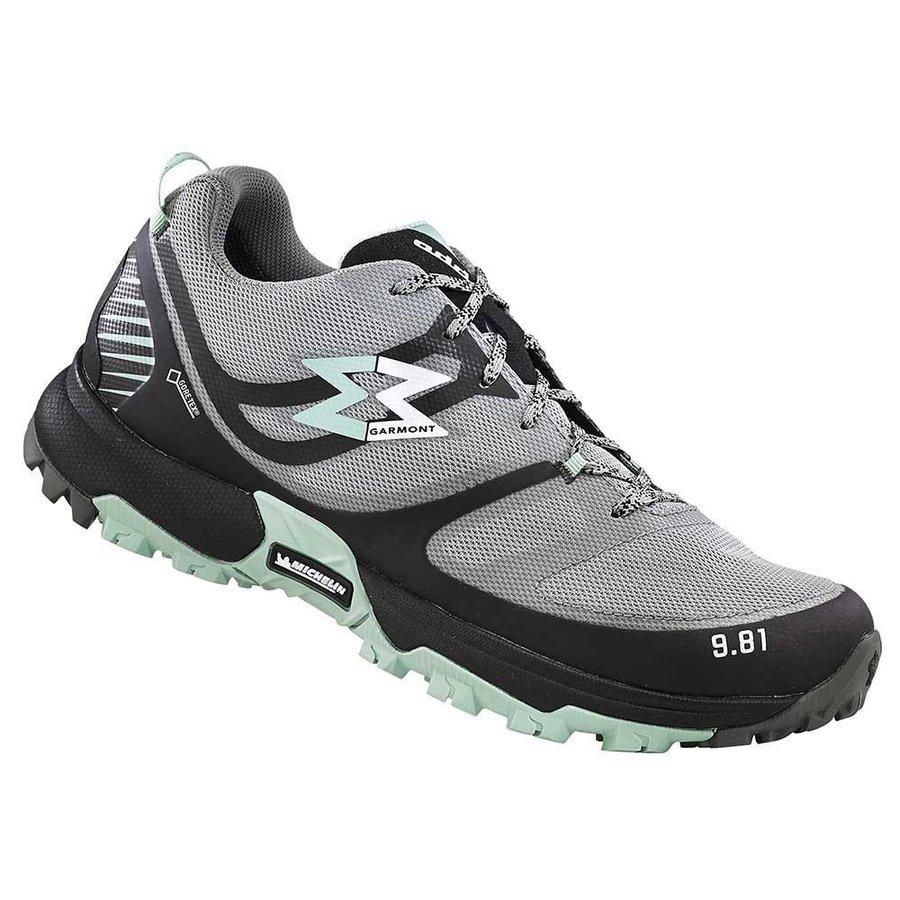 [ガルモント]Track GTX ウーマン(Dark Grey / Light Green)★トレイルラン・山歩き・アウトドアシューズ・靴・登山★