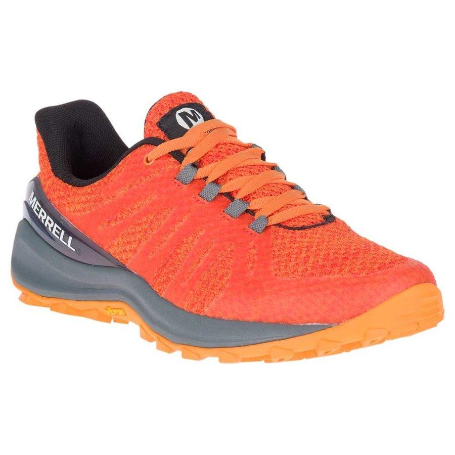 [ メレル ] Momentous ウーマン ( Flame Orange ) ★ トレイルラン ・ 山歩き ・ アウトドアシューズ ・ 靴 ・ 登山 ★