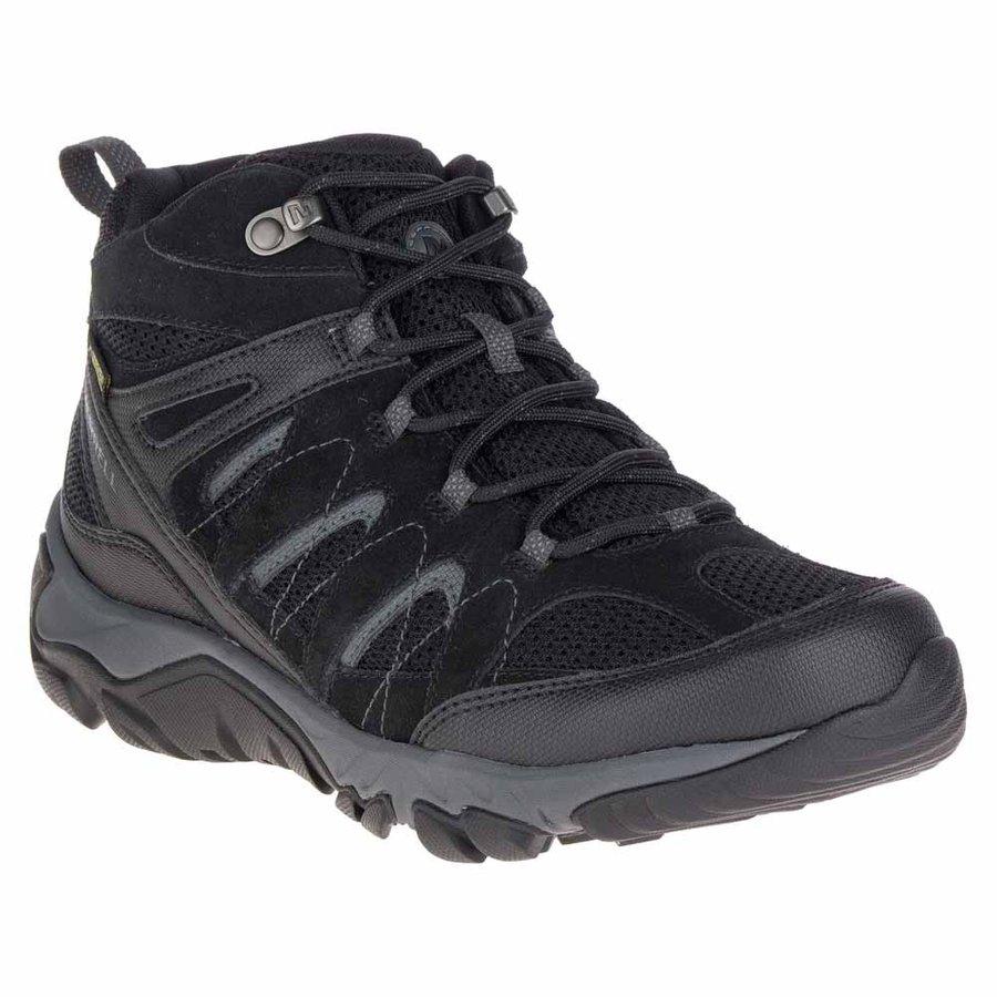 [ メレル ] Outmost Mid Vent Goretex ( Black ) ★ 登山靴 ・ 靴 ・ 登山 ・ アウトドアシューズ ・ 山歩き ★
