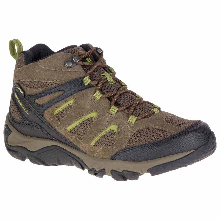 [ メレル ] Outmost Mid Vent Goretex ( Boulder ) ★ 登山靴 ・ 靴 ・ 登山 ・ アウトドアシューズ ・ 山歩き ★