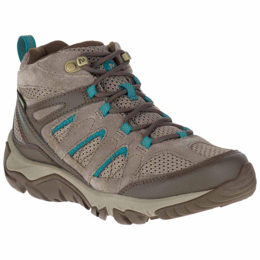 [メレル]Outmost Mid Vent Goretex ウーマン(Boulder)★登山靴・靴・登山・アウトドアシューズ・山歩き★