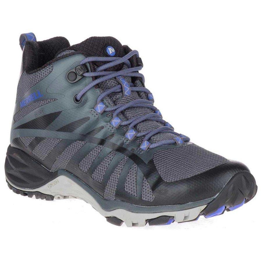 [ メレル ] Siren Edge Q2 Mid ウーマン ( Black ) ★ 登山靴 ・ 靴 ・ 登山 ・ アウトドアシューズ ・ 山歩き ★