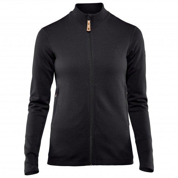 FJALLRAVEN Women's Keb Wool Sweater フェールラーベン Keb ウールセーター レディース ( Black )