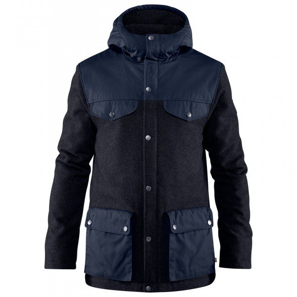 FJALLRAVEN Greenland Re-Wool Jacket フェールラーベン Greenland Re-ウールジャケット ( Night Sky )