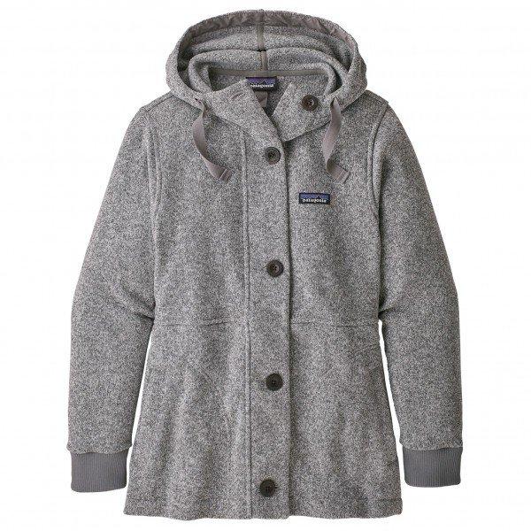 パタゴニア Better Sweater Coat フリースジャケット レディース ( Birch White )