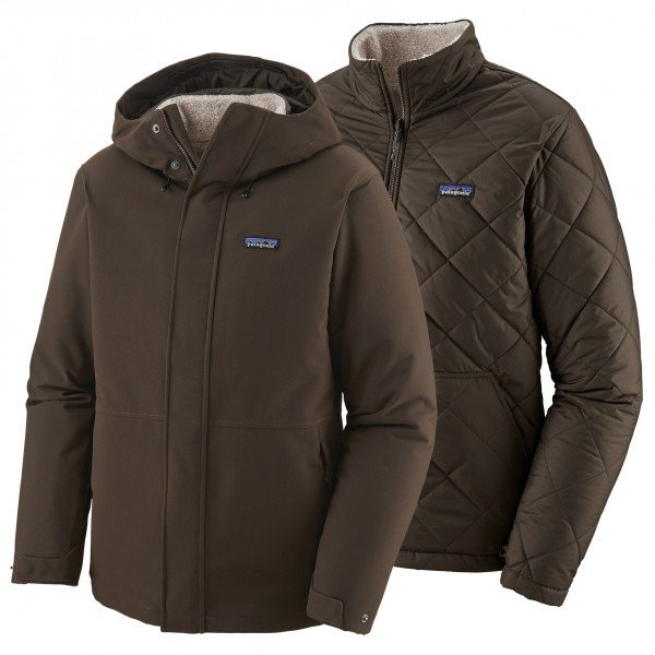 PATAGONIA Lone Mountain 3-in-1 Jacket パタゴニア Lone Mountain 3-in-1 ジャケット コート メンズ ( Logwood Brown )