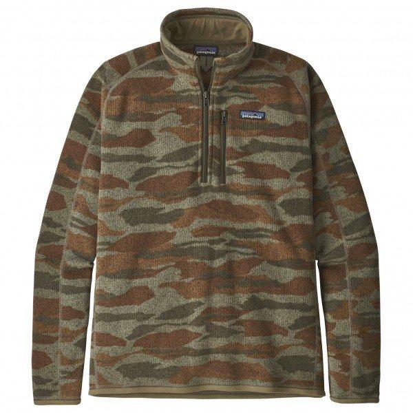 パタゴニア Better Sweater 1/4 Zip  メンズ( Bear Witness Camo / Sage Khaki )