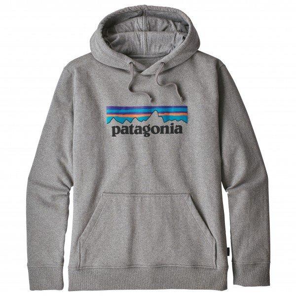 【 即納 】 パタゴニア P-6 Logo Uprisal フーディ メンズ ( Gravel Heather )