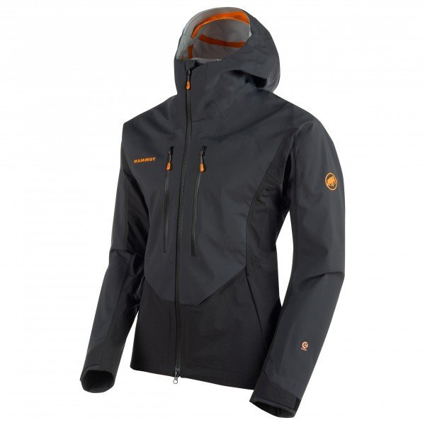Mammut Eisfeld Guide SO Hooded Jacket マムート Eisfeld Guide SO Hooded ソフトシェルジャケット ( Black )