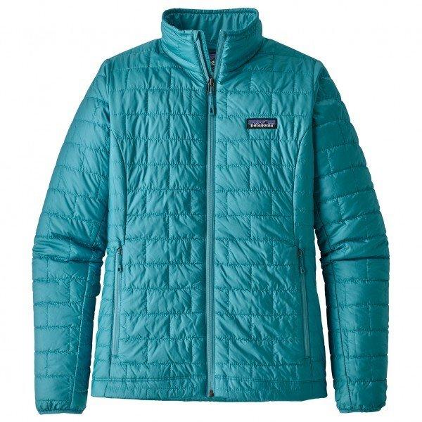 パタゴニア Women's Nano Puff Jacket ジャケット レディース ( Mako Blue )