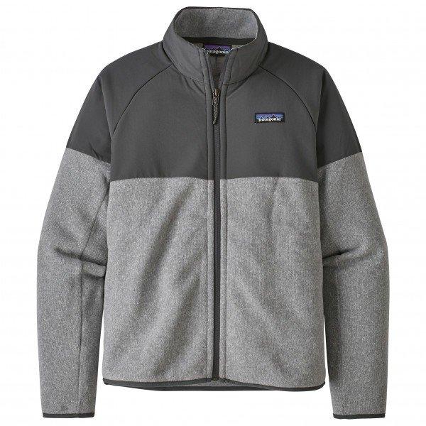 パタゴニア ◆ LW Better Sweater Shelled ベターセーターシェルド ジャケット レディース(Feather Grey)